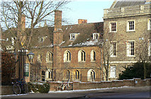 TL4458 : Queens' College by Alan Murray-Rust