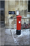 TL4458 : Penfold pillar box outside King's College by Alan Murray-Rust