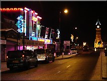 TF5663 : Skegness illuminations by Ian Paterson