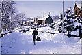 NT4936 : The High Road, Galashiels, 1963 by Mary Dalgetty Baxter