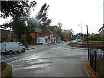 SU6351 : Approaching the junction of Hackwood Road and Southern Road by Basher Eyre