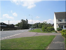 TM2850 : Junction of Church View Close and the A1152 by Basher Eyre