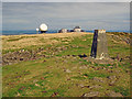 SO5977 : Trig point on Titterstone Clee Hill by Trevor Rickard