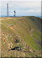 SO5977 : Communications masts on Clee Hill by Trevor Rickard