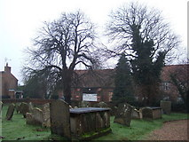 TF5617 : A view from the church entrance, Tilney All Saints by Richard Humphrey