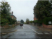 SU6351 : Looking from Cliddesden Road into Fairfields Road by Basher Eyre
