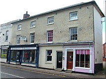 TM3863 : New sweet shop, Saxmundham High Street by John Goldsmith