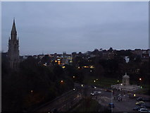 SZ0891 : Bournemouth: dusk falls on the decade by Chris Downer