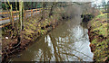 J3067 : Lock no 6, disused Lagan canal by Albert Bridge