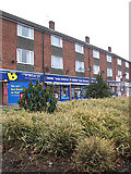 TM1179 : Shops in Park Road (A1066) Diss by Evelyn Simak