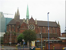 TQ3266 : Croydon: St Michael and All Angels church, from the north by Christopher Hilton