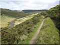 SX6380 : Upper valley of the East Dart by Paul Lang