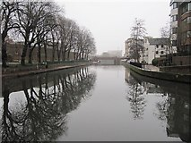 SU7273 : River by the prison by Bill Nicholls