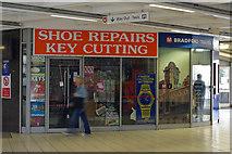 SE1632 : Shoe repairs and key cutting - Bradford Interchange by Phil Champion
