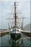 TQ7569 : Chatham Historic Dockyard, HMS Gannet by Graham Horn
