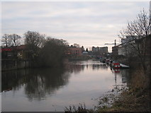 SK7954 : The Trent at Newark by Jonathan Thacker