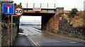 J3979 : Railway bridge, Holywood (1) by Albert Bridge