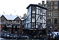 SJ8398 : Sinclair's Oyster Bar, Shambles Square by N Chadwick