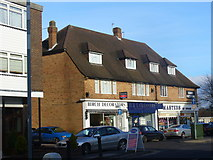 TQ2258 : Shops at Tattenham Corner by Colin Smith