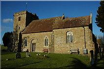 SO7428 : Pauntley Church by Philip Halling