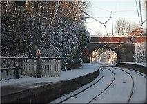 SD8203 : Bridge near Heaton Park Station by N Chadwick