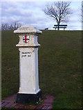 TQ2258 : Tattenham Corner, Coal Tax Post by Colin Smith