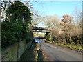 TQ0621 : Railway bridge at North Heath by Dave Spicer