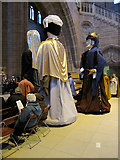 SJ3589 : The Three Kings in Liverpool Anglican cathedral by John S Turner