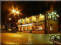 SD7806 : Radcliffe Piazza, Bridge Tavern by David Dixon