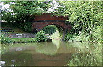 SO9262 : Entrance to the Droitwich Junction Canal near Hanbury by Roger  Kidd