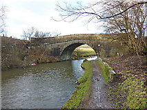 SD7328 : Bridge No 110, Leeds and Liverpool Canal by Alexander P Kapp