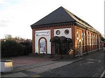 SP0585 : Former railway buildings, Five Ways by Michael Westley