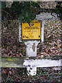 TM3764 : Gas Pipeline marker on Rendham Road by Adrian Cable