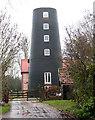 TM0196 : Great Ellingham towermill by Evelyn Simak