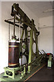 SK5732 : Great Central Railway Ruddington - beam engine by Chris Allen
