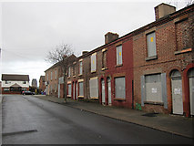 SJ3688 : North-west end of Madryn Street by John S Turner