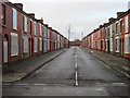 SJ3688 : Powis Street, Toxteth by John S Turner