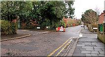J3271 : Suburban crossroads, Belfast by Albert Bridge