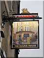 TQ3080 : The Round House sign by Oast House Archive
