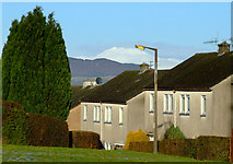 NS3373 : Ben Lomond from Port Glasgow by Thomas Nugent