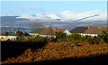 NS3373 : Helensburgh and Glen Fruin from Port Glasgow by Thomas Nugent