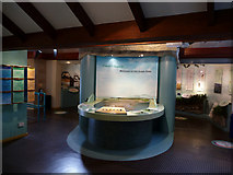 SH7683 : Interactive displays inside the Great Orme Visitor Centre by Phil Champion
