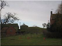 SK7368 : Motte at Egmanton by Jonathan Thacker