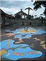 SU4873 : Playground, Priors Court School by Christopher Hilton