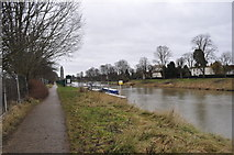 TF3244 : River Witham by Ashley Dace