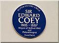 J3480 : Coey plaque, Merville, Newtownabbey by Albert Bridge