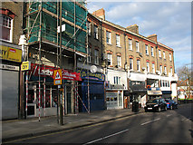 TQ4077 : Shops at the Royal Standard (2) by Stephen Craven