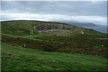 SH7683 : The Bishop's Quarry, Great Orme by Phil Champion