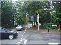 TQ2472 : Junction of Bathgate Road and Church Road, Wimbledon by David Howard