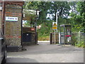 TL1302 : Entrance to Bricket Wood station by David Howard